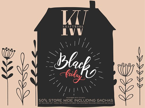 KraftWork Black Friday 2020 - November 25th - 30th