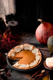 pumpkin pie, vegan, take two