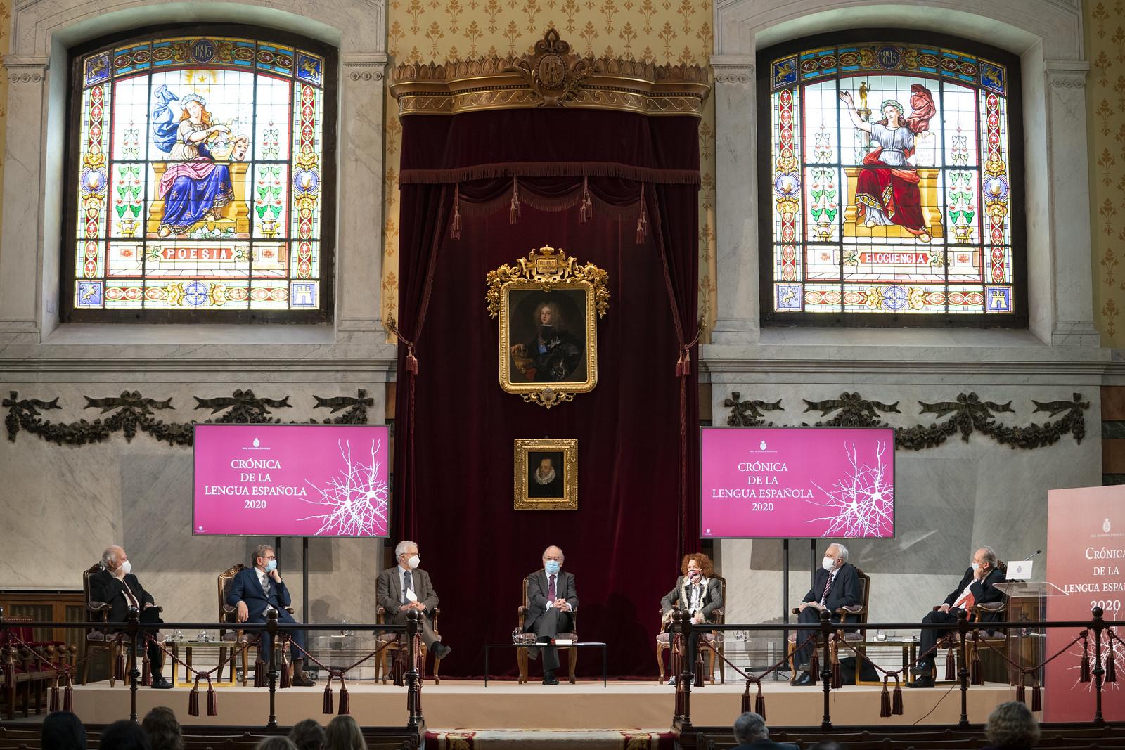 Presentación de la «Crónica de la lengua española 2020» y la actualización del «DLE»