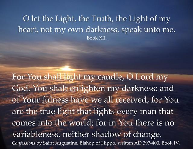Augustine on light