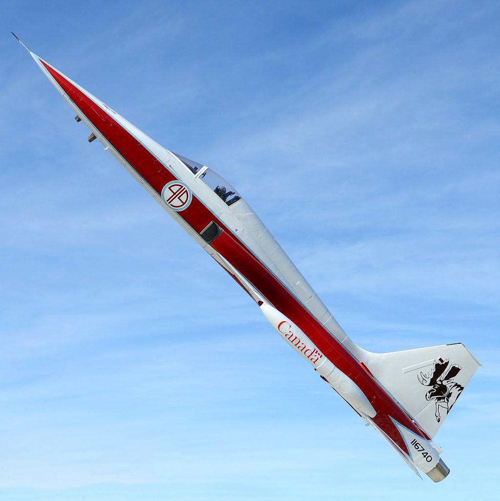 CF-5 Freedom Fighter Kamloops