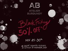 Black Friday @ Atelier Burgundy