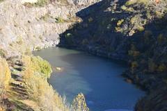 Tarcal Mine Pit Lake, Tarcal, Hungary