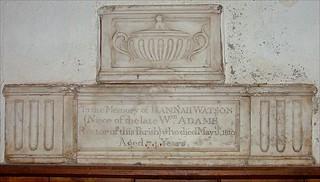 Hannah Watson, 1810