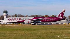 Qatar Airways Boeing B777-3ER A7-BEB