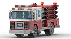 1987 FMC/Spartan 1250/1000 Pumper