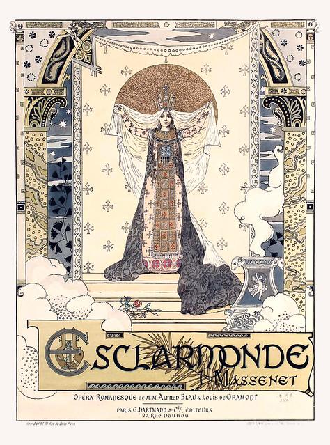 Esclarmonde, de J. Massenet, 1889