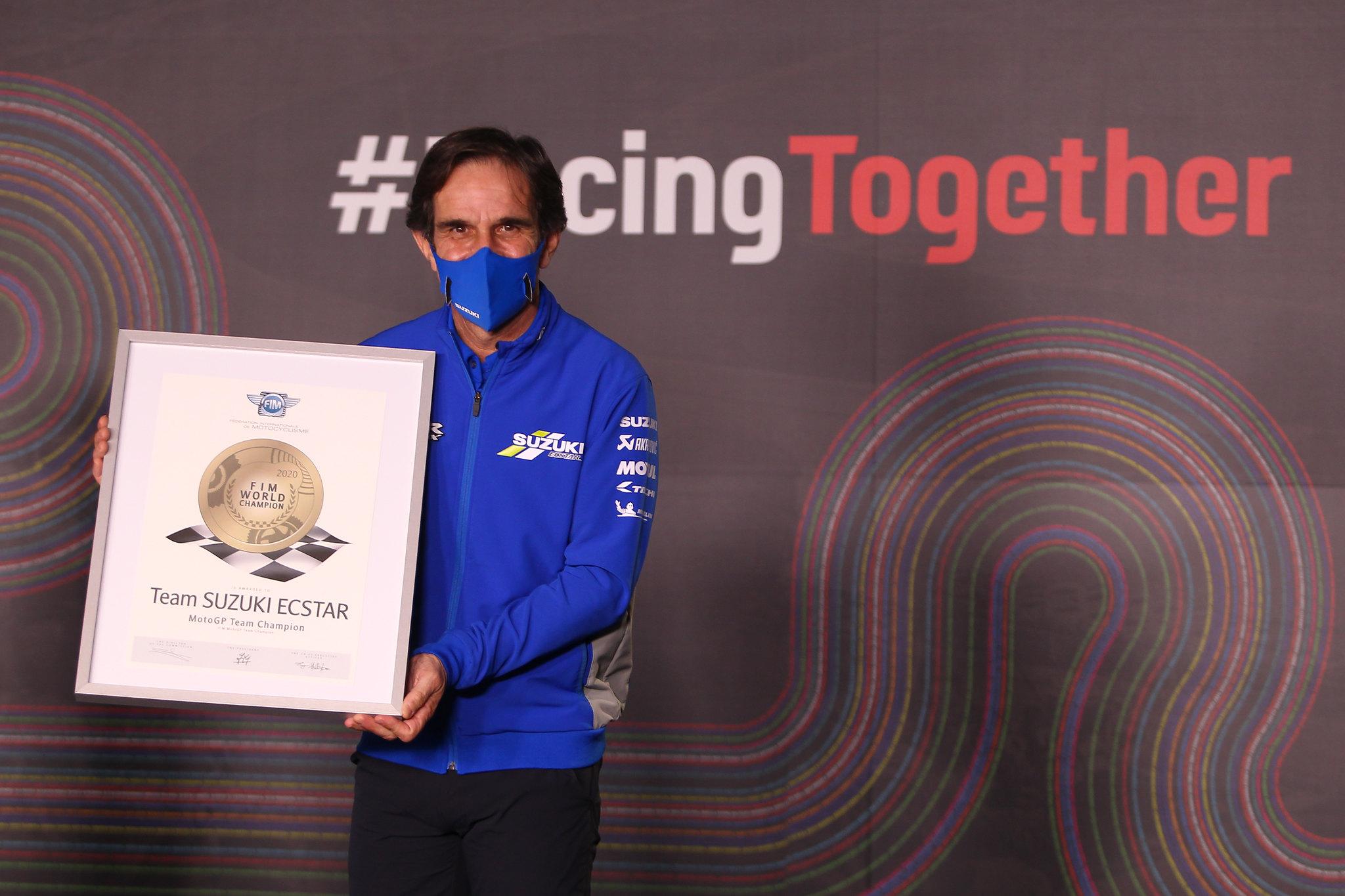 Suzuki - MotoGP team wereldtitel