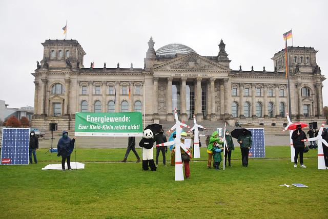30.10.2020: Energiewende: Euer Klein-Klein reicht nicht!