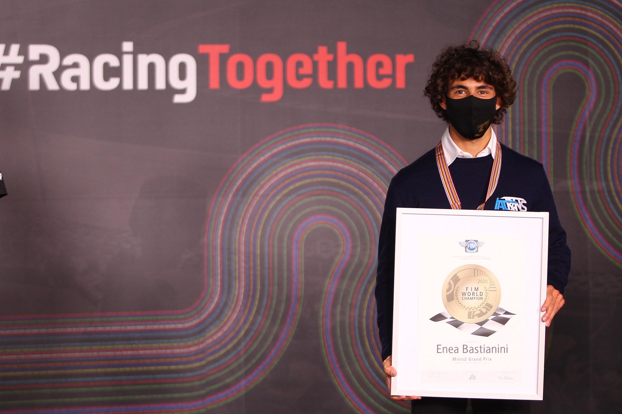 Enea Bastianini - Moto2 wereldkampioen