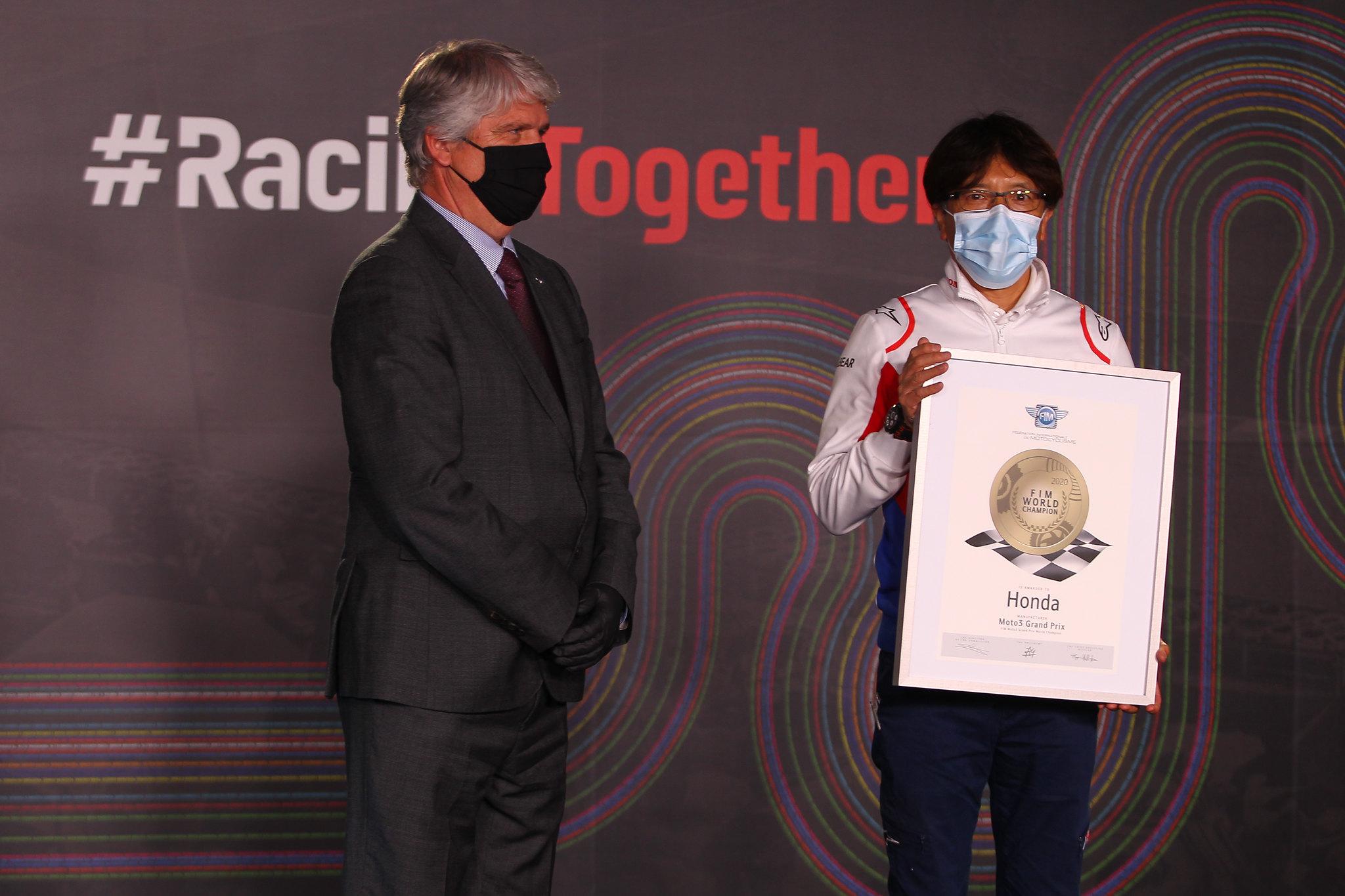 Honda - Moto3 constructeurs wereldtitel