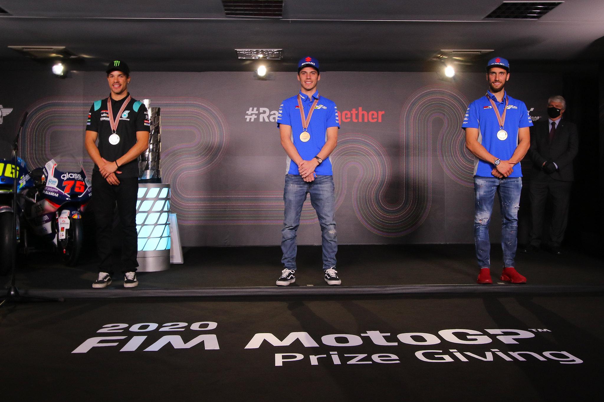 MotoGP top 3