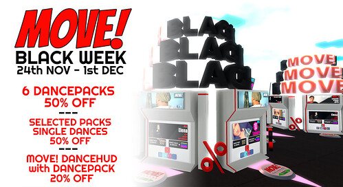 BLACK WEEK @ MOVE! ANIMATIONS COLOGNE STARTING NOW!