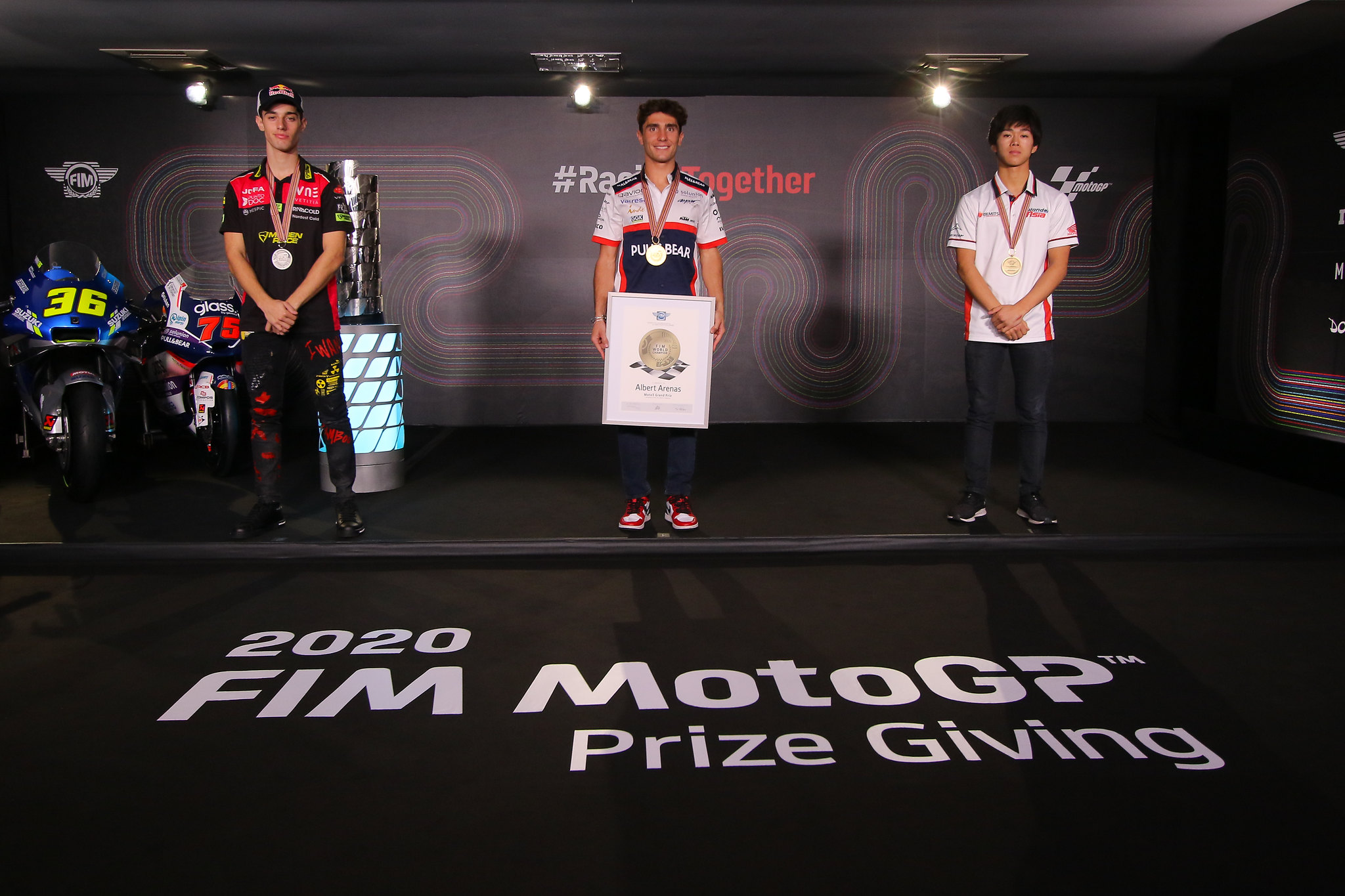 Moto3 top 3