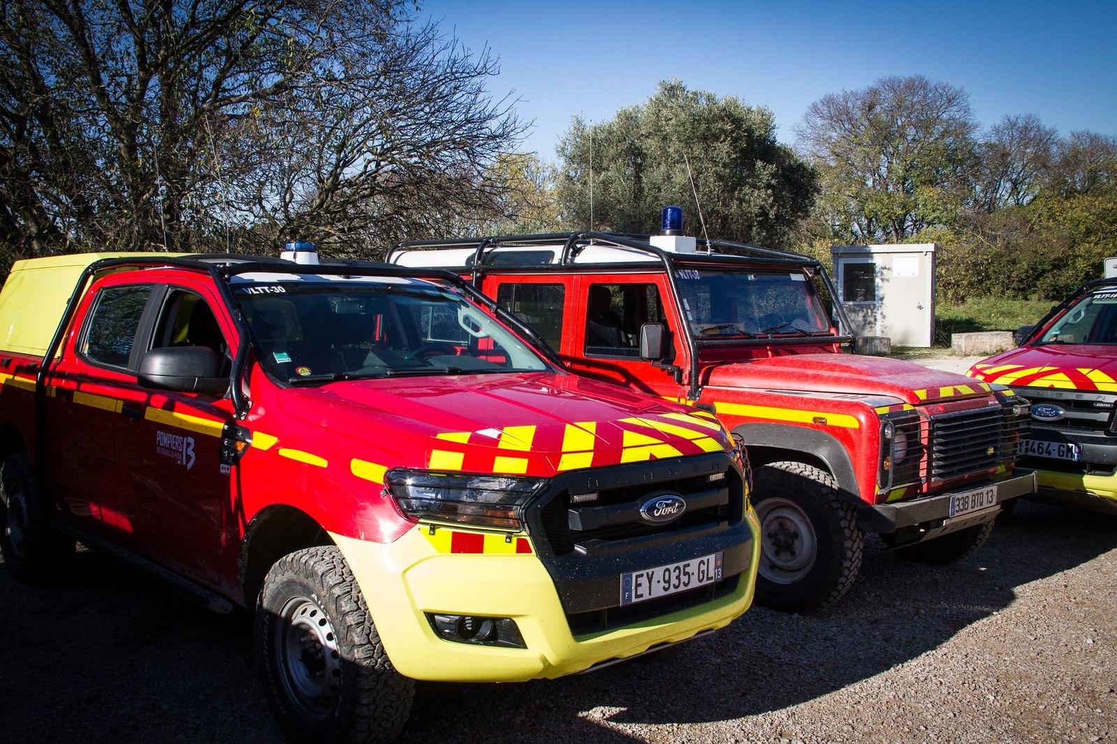 Les Pompiers13 du Groupement Nord en formation COD2