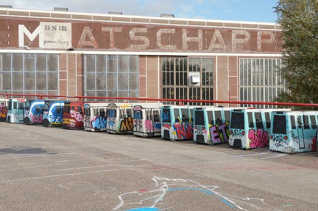 NDSM Plein - Amsterdam (Netherlands)