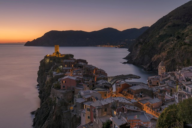 *Vernazza Twilight*