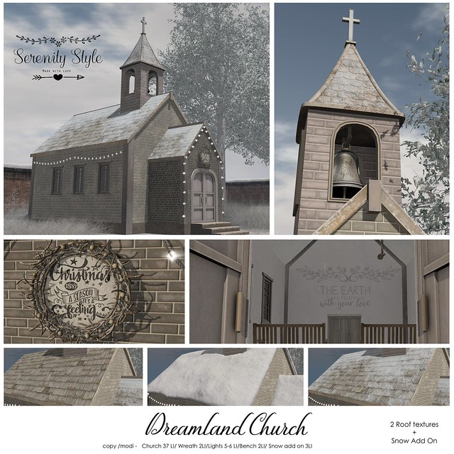 Serenity Style- Dreamland Church