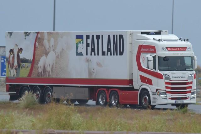 Scania NG R 650 V8 - Hustvedt & Skeie Transport  Norwegen - N  SD 92550