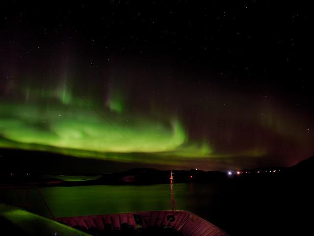 Aurora Borealis near Rørvik