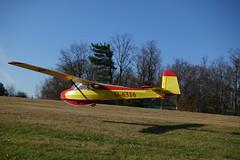 Ka-4 landing at Beltzville airport, PA