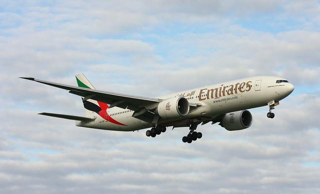 Emirates, A6-EWF, MSN 35586, Boeing 777-21H LR, 20.07.2012, HAM-EDDH, Hamburg