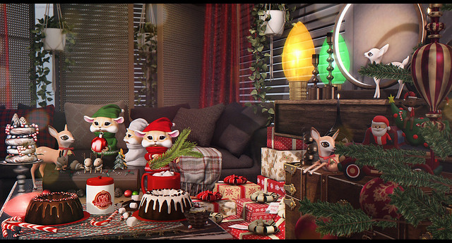 Christmas is seeping in