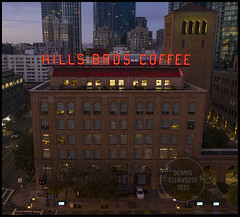 Hills Brothers Exterior Branding