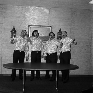Happy Faces barbershop quartet, 1973