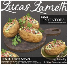 Luc - Baked Potatoes BENTO Server @ equal10