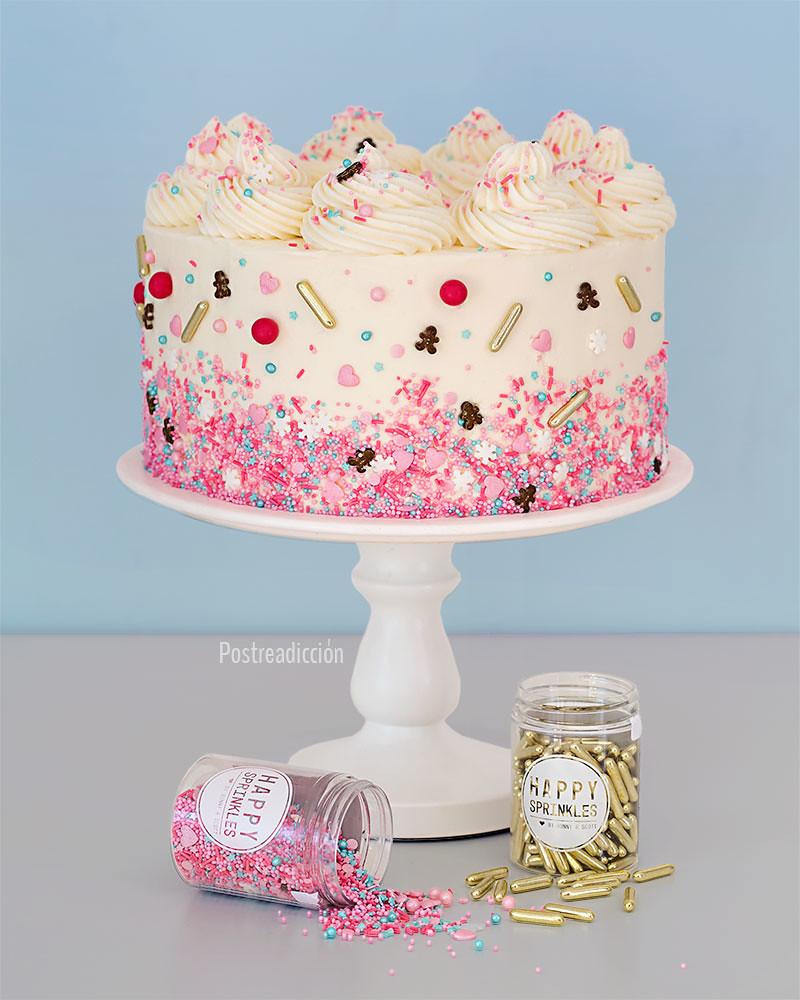 layer cake navideña