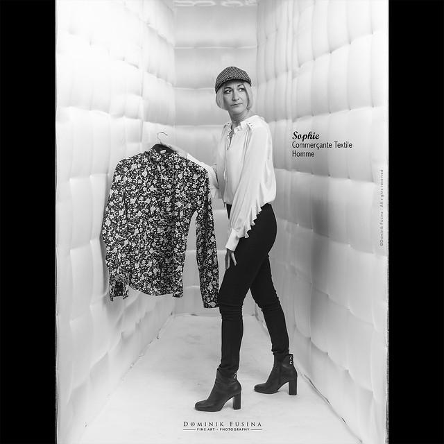 Marie - Commerçante Textile Homme | Les NON ESSENTIELS