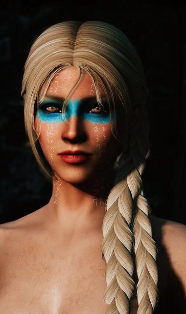 SC 2608-9 - Diamantha - Abandoned Priestess - Half elf War priestess