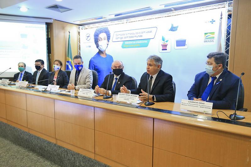 Saúde do DF participa do lançamento da campanha nacional de combate ao Aedes aegypti