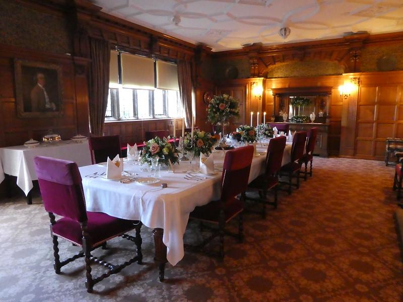 THe Dining Hall, Lanhydrock COrnwall