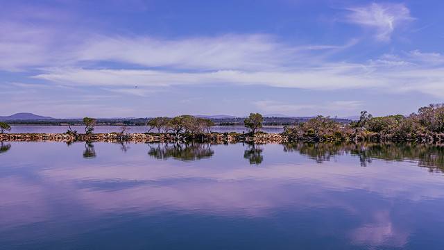 Mitchell River Silt Jetties, Gippsland Lakes Reserve, Victoria
