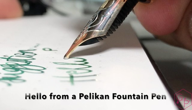 Handwriting with a Pelikan Fountain Pen_RWM