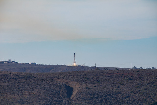 Sentinel-6 First Stage Booster Landing