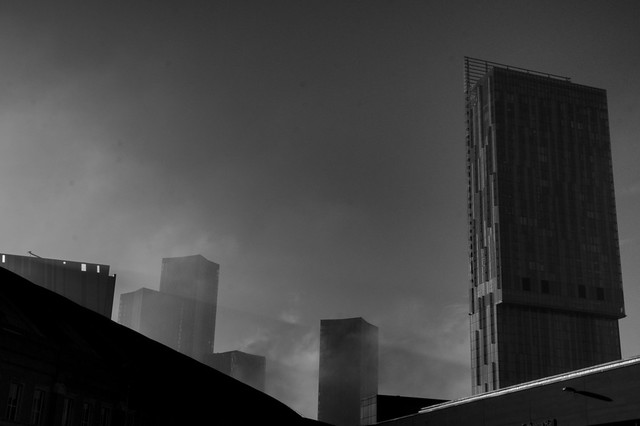 Beetham tower in Manchester