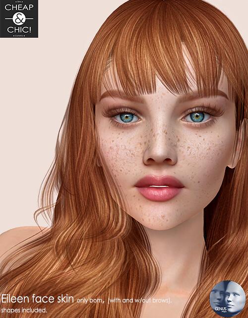 Eileen face skin [Genus Project]
