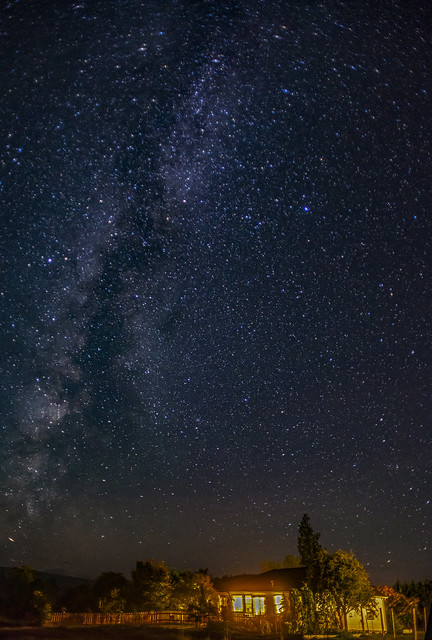 We Live under the Milky Way