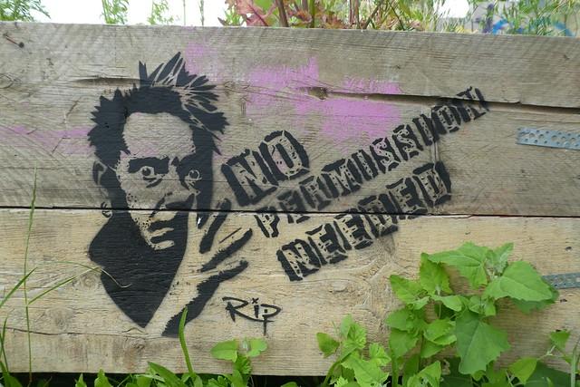 Rip stencil, Shoreditch