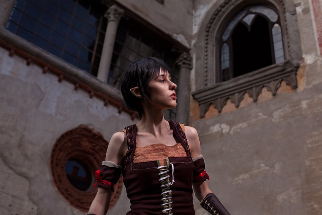 Eveline Witcher cosplay Heart of Stone