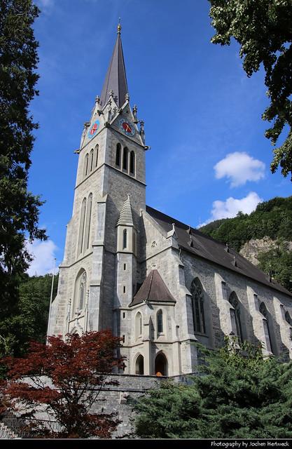 Kathedrale St. Florin, Vaduz, Liechtenstein