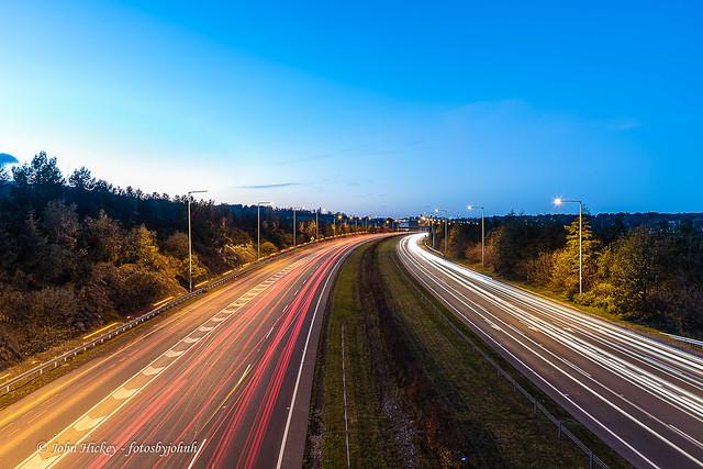 Traffic Light trails - DSC_0167