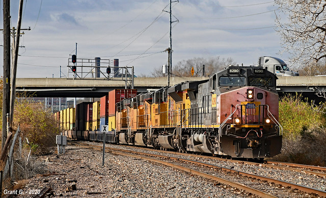 Eastbound Intermodal in Kansas City, MO