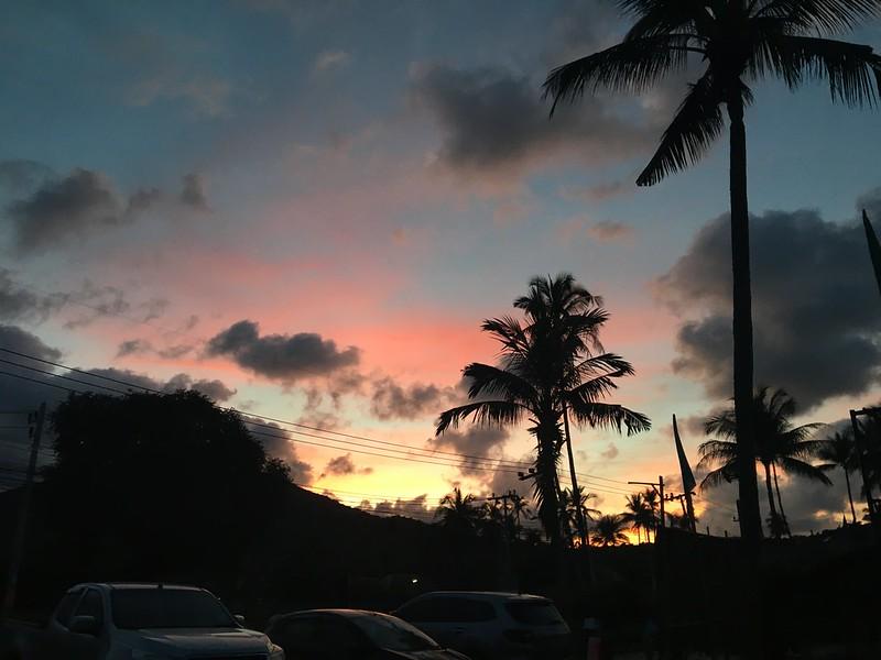koh samui sunset  サムイ島夕焼け