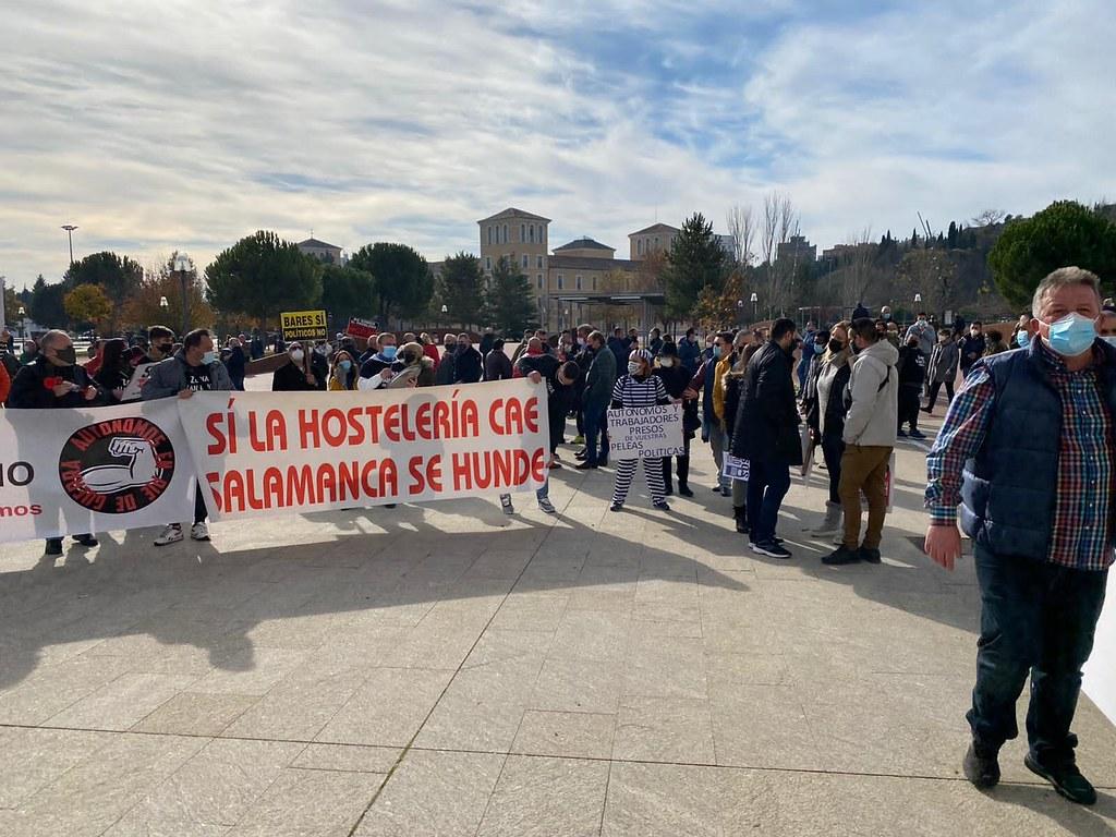 Hosteleros de Salamanca en Valladolid.  (23)