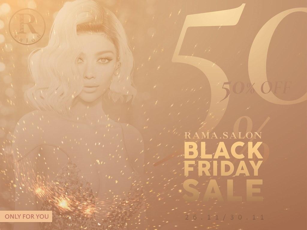 RAMA.SALON – Black Friday 2020 (50% OFF)
