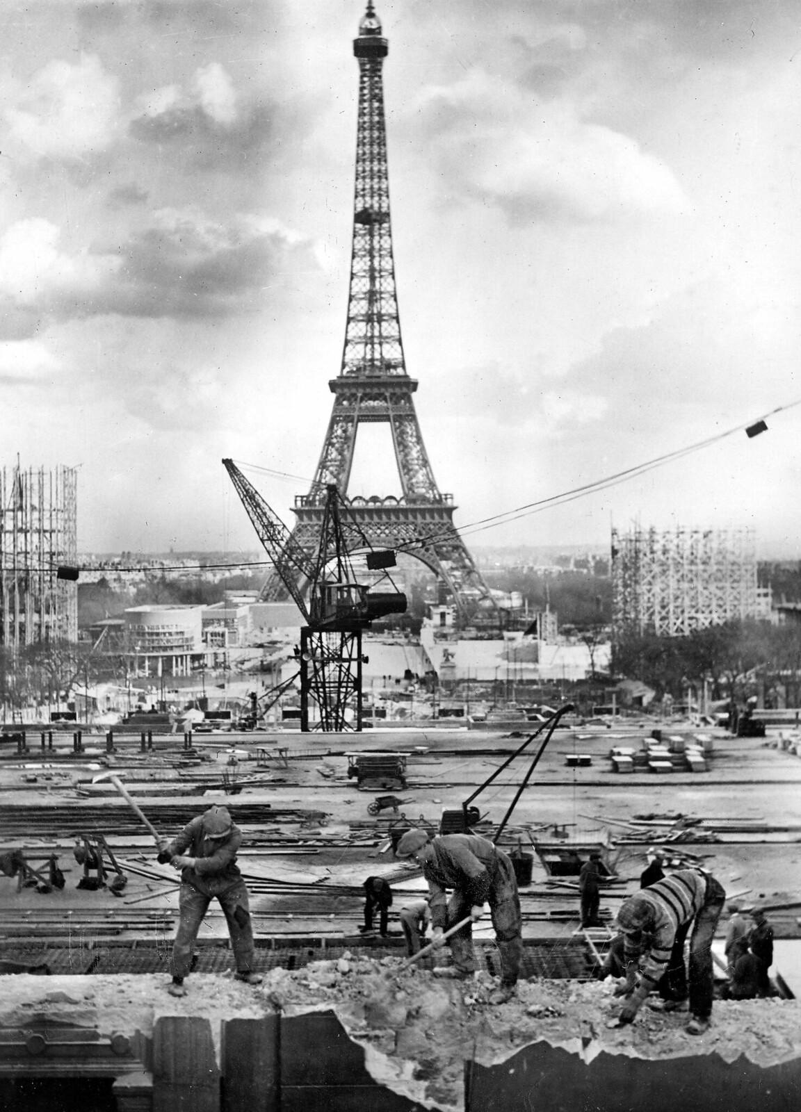 03. 1937. Подготовка к Всемирной выставке